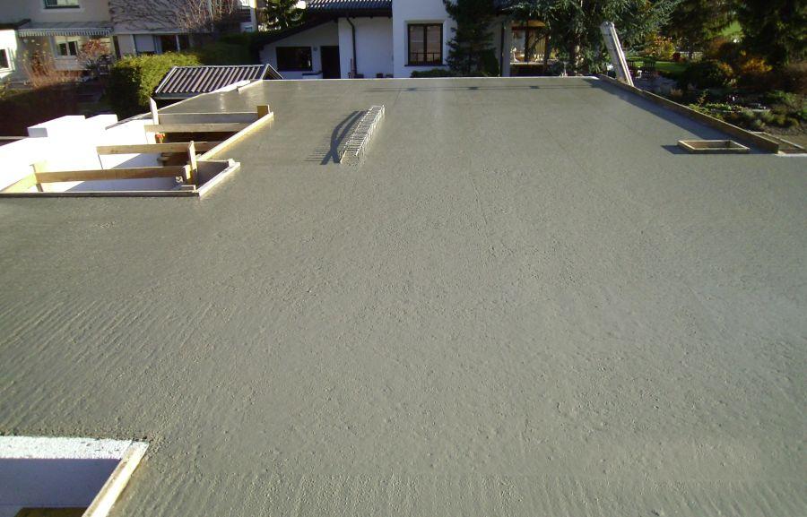 Decke KG betonieren