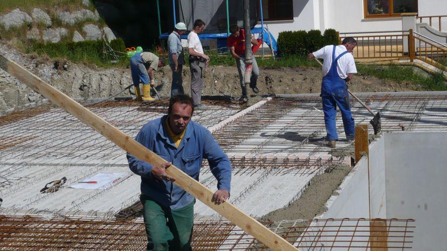 KG Decke betonieren