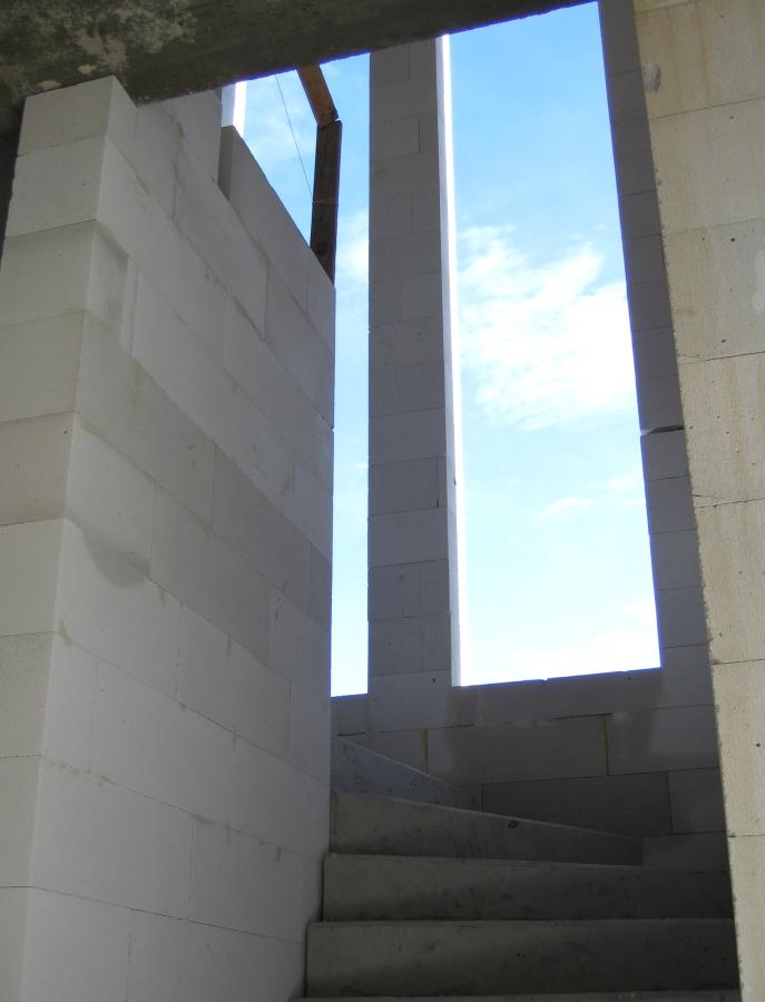 Stiegenhaus mit Ausblick