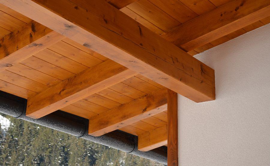 Untersicht Dach