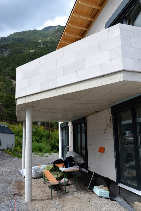 Rohbau Balkon